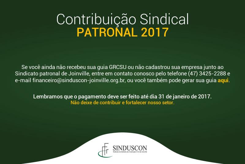 Contribuição Patronal 2017
